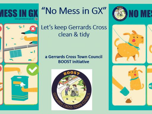 Image for GX Town Council BOOST poster campaign