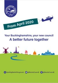 Image for New Buckinghamshire Council launches on 1st April 2020