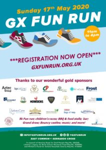 Image for GX Fun Run 17th May 2020 – Registration now open!