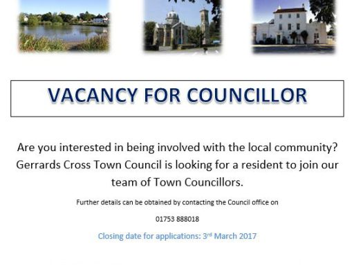 Image for Vacancy for Gerrards Cross Town Councillor