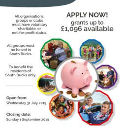 Image for South Bucks Community Grant Scheme